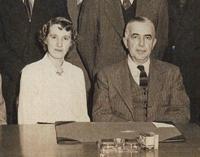 Rosette Renshaw et Pierre Daviault