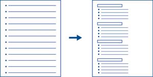 Image de deux exemples de listes